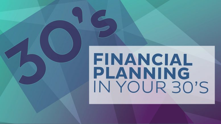financial planning in your 30s